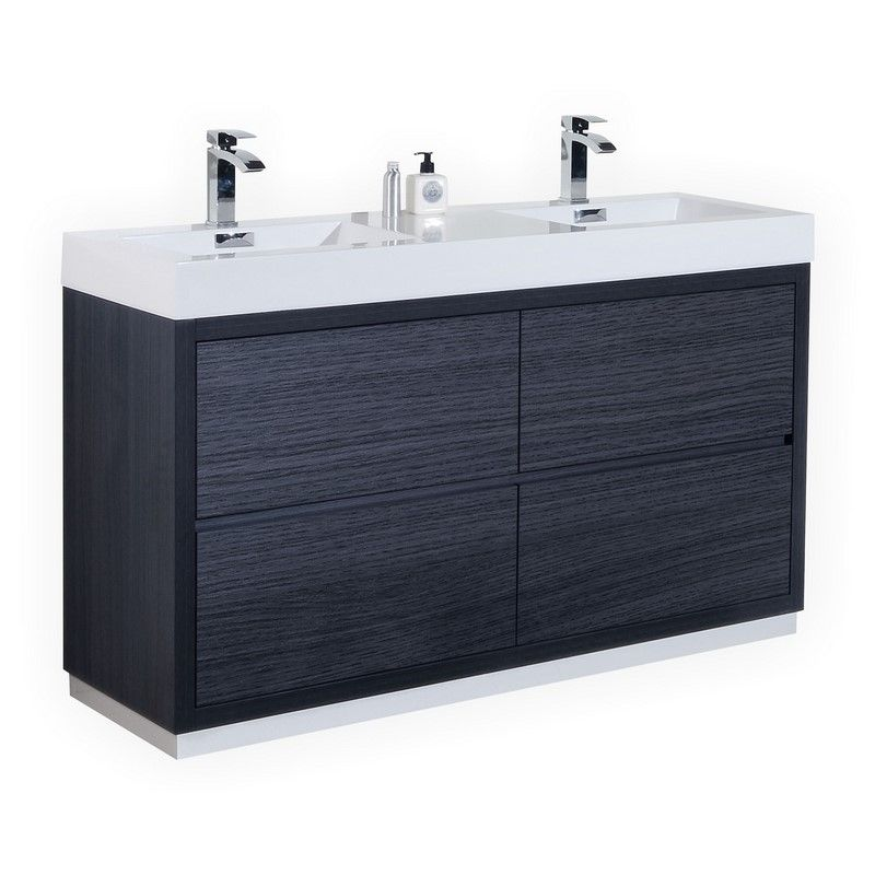 Modern Lux 60 Modern Bathroom Vanity Double Vanity Bathroom