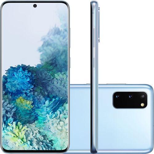 Smartphone Samsung Galaxy S20 - Cloud Blue nas americanas