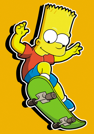 High Quality Guaranteedcreate A Gift With Bart Simpsons On