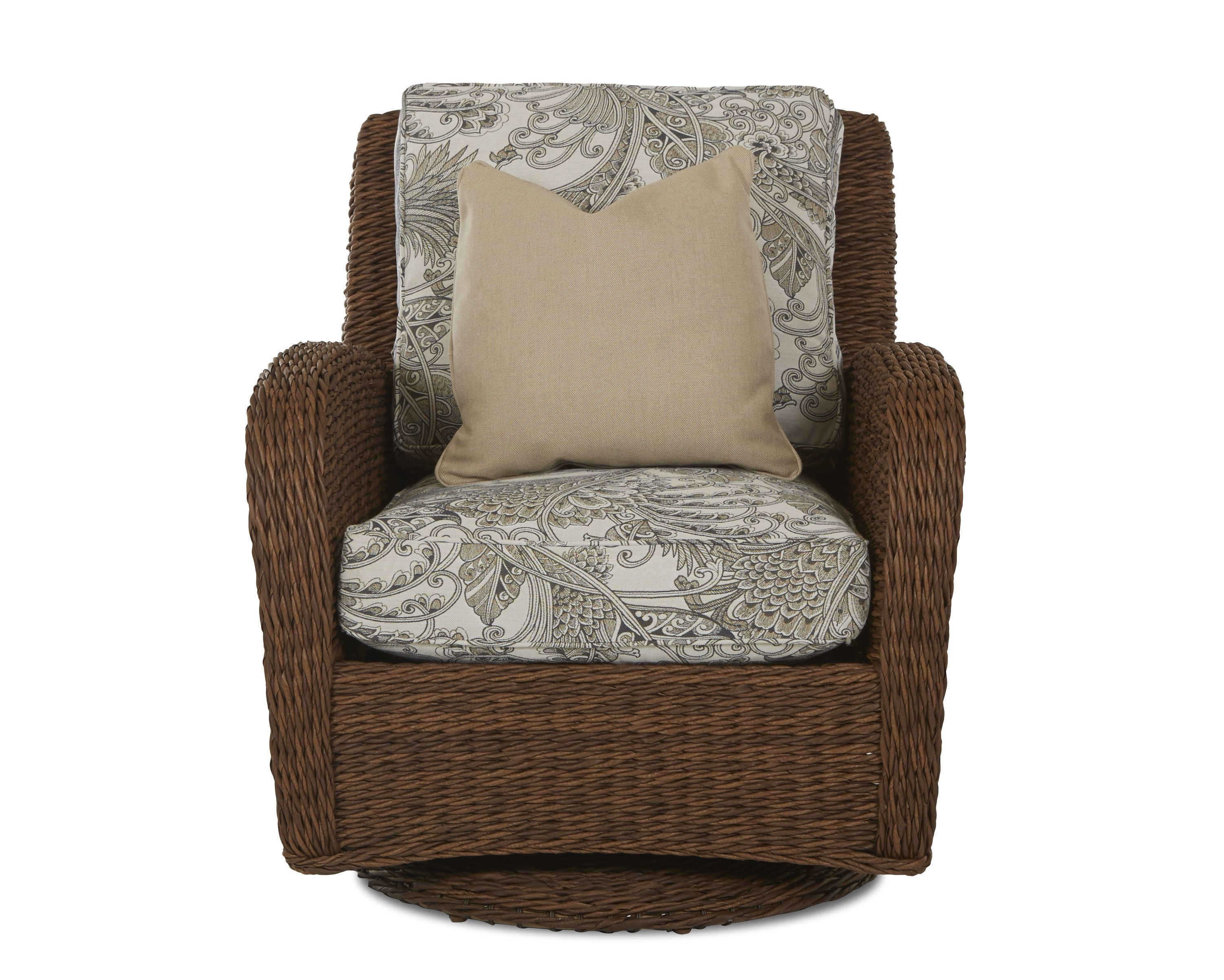 Klaussner Outdoor Outdoor/Patio Palmetto Swivel Glider Chair W1400 SGC - Klaussner Outdoor - Asheboro, NC