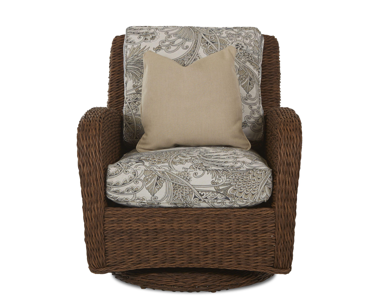 Klaussner Outdoor Outdoor/Patio Palmetto Swivel Glider Chair W1400 SGC - Klaussner Outdoor - Asheboro, NC
