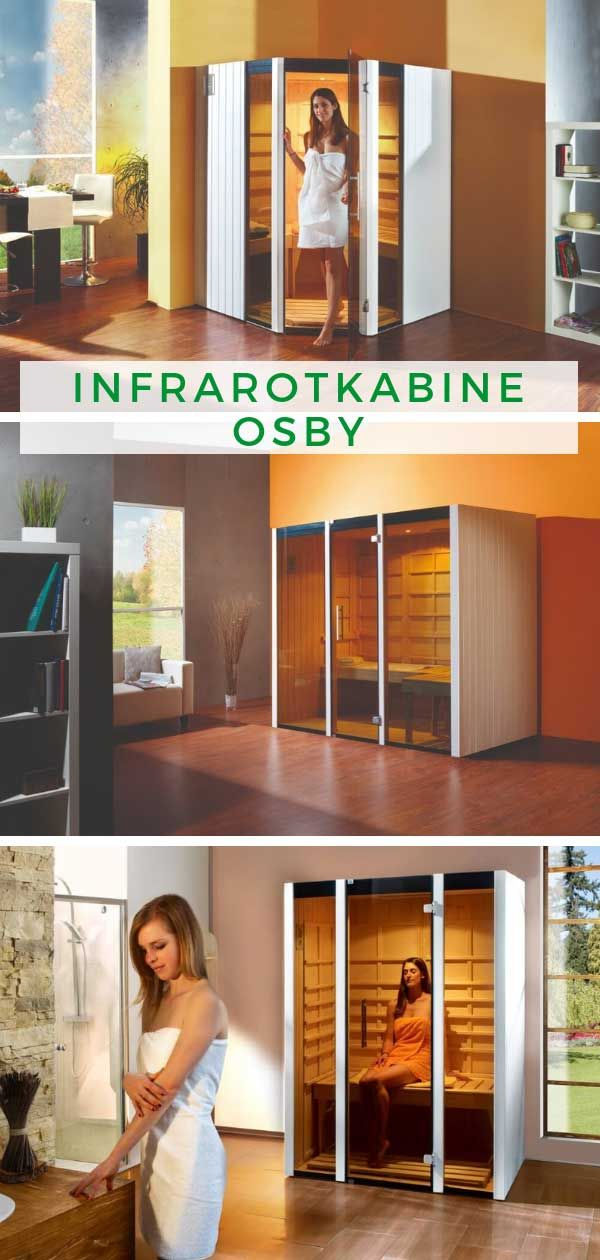 weka infrarotkabine osby in 2019 infrarotkabine wandverkleidung innen und fensterelemente. Black Bedroom Furniture Sets. Home Design Ideas