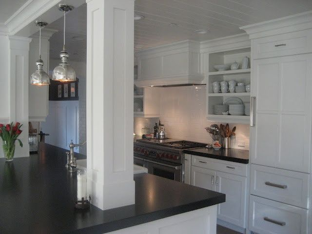 Kitchens With Supporting Columns Photos Kitchen Island Incorporating Support Columns