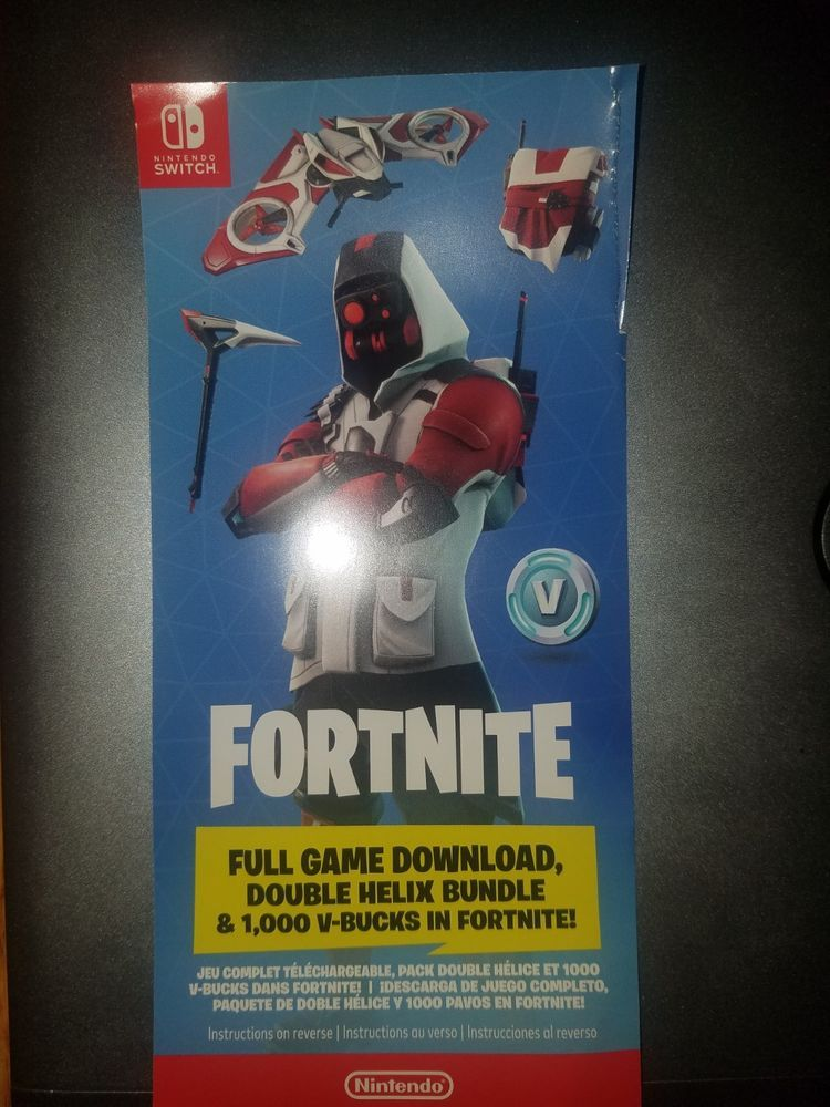 Free Fortnite Skins Codes Nintendo Switch   About V-buck
