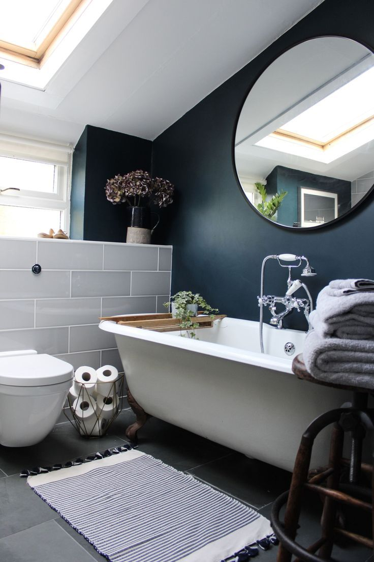 Being Bolder - Bathroom Update #industrialinteriordesign