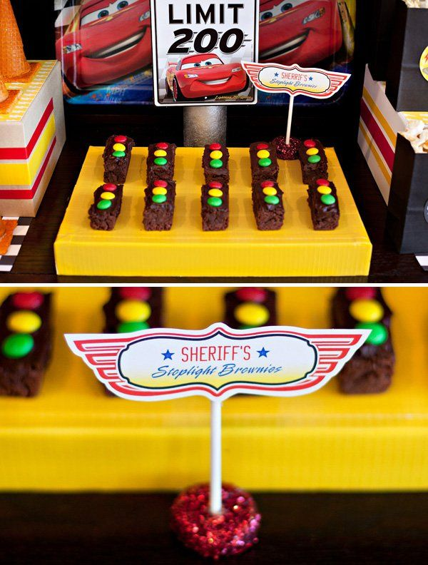 10 simple fun disney cars party food ideas mother son event pinterest. Black Bedroom Furniture Sets. Home Design Ideas