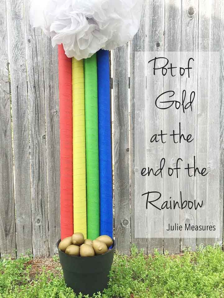 Pot Of Gold At The End Of The Rainbow With Images Pot Of Gold