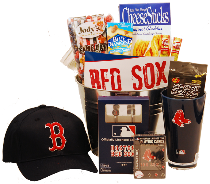 Boston Red Sox Gift Basket Go Sox Gifts For Boston