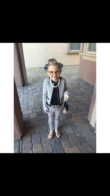 On the 100th day of school have the kids dress up as old people or 100 year olds