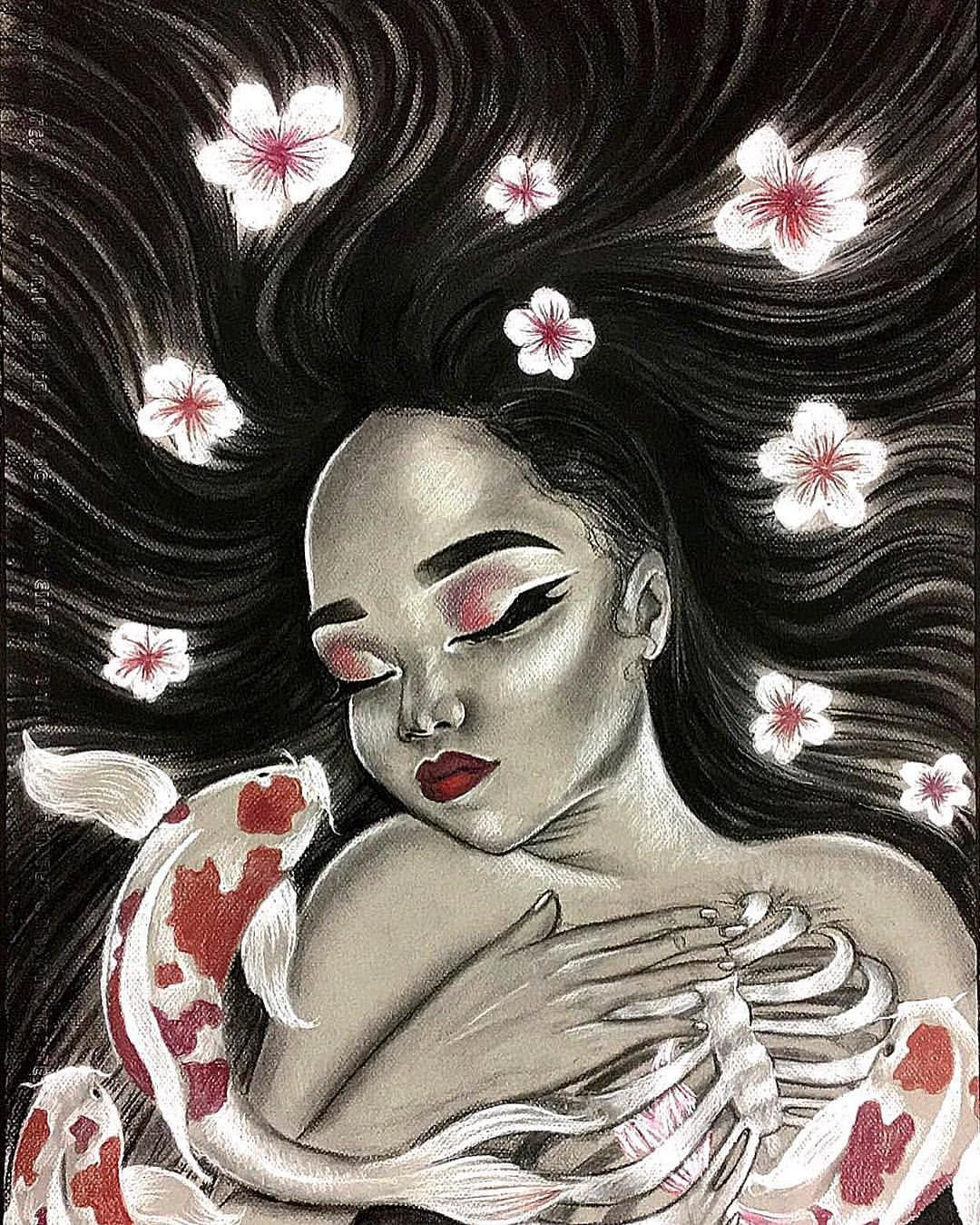 Instagram Christina Lorre Drawings