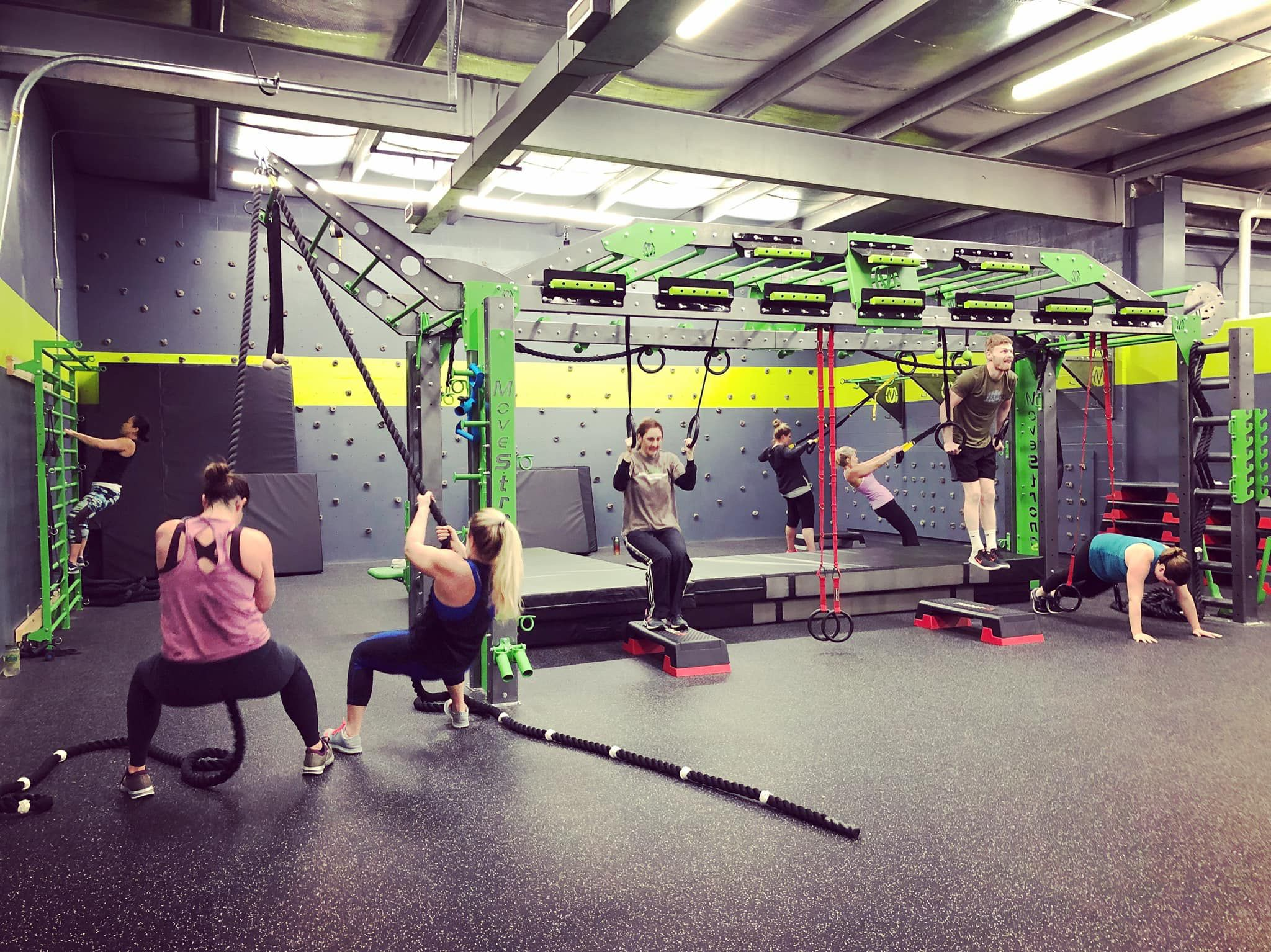 Movestrong Group Functional Fitness High Intensity Workout Fun Workouts Low Intensity Workout