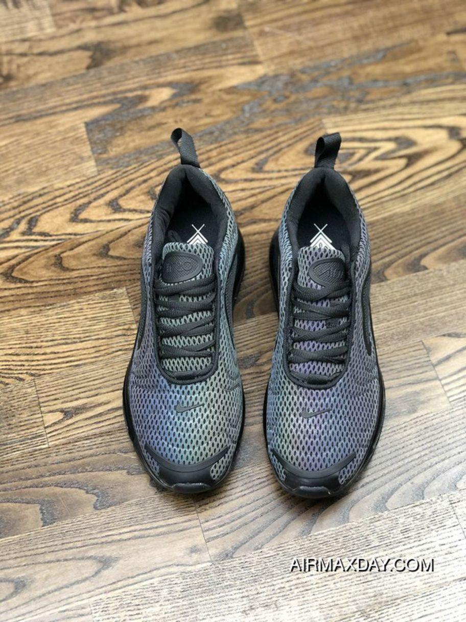 big sale 92d38 8942b Nike Air Max 720 2019 Gradient Color Black Original Mens Running Shoes  Online