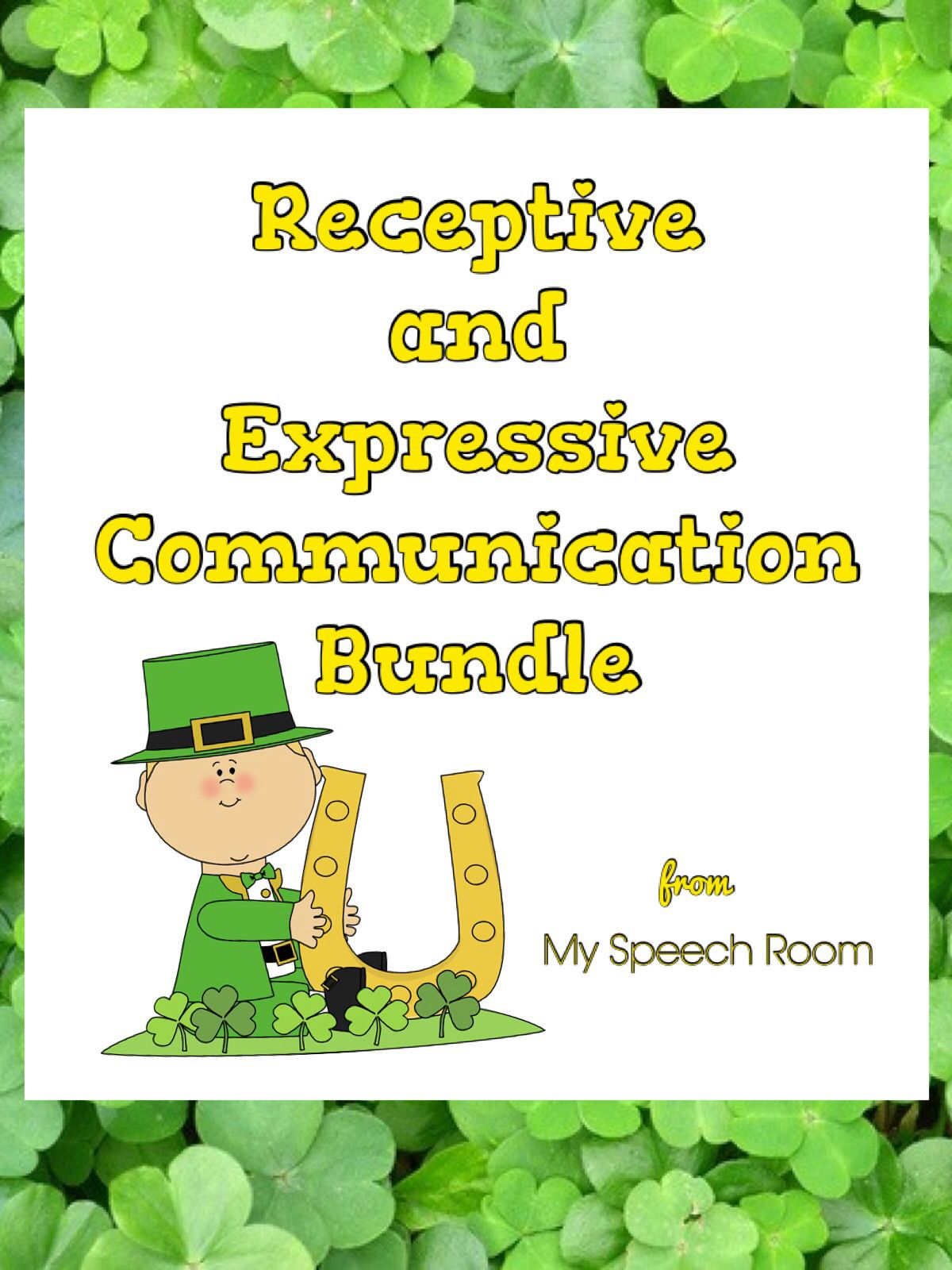 St Patrick S Day Speech And Language Therapy Activity