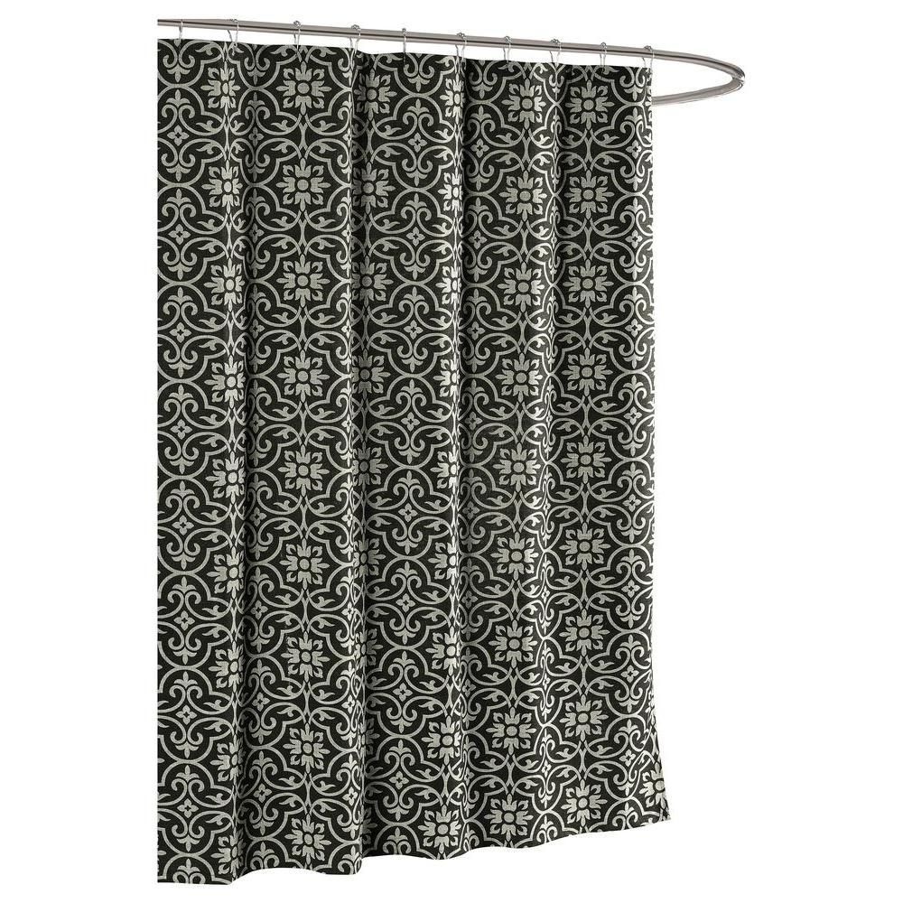 Creative Home Ideas Allure Printed Cotton Blend 72 In W X 72 In