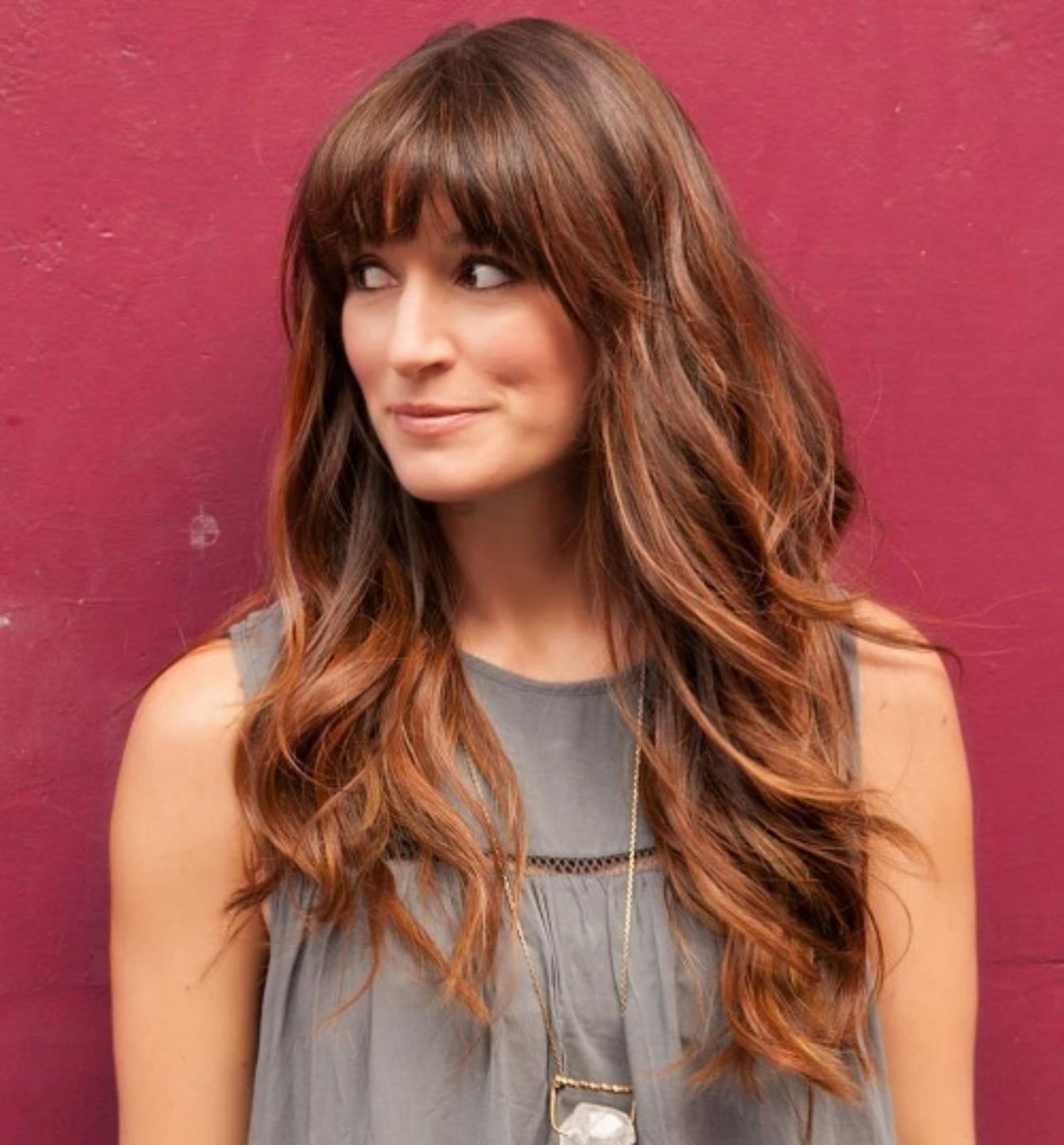 50 Best Hairstyles For Square Faces Rounding The Angles Long Hair