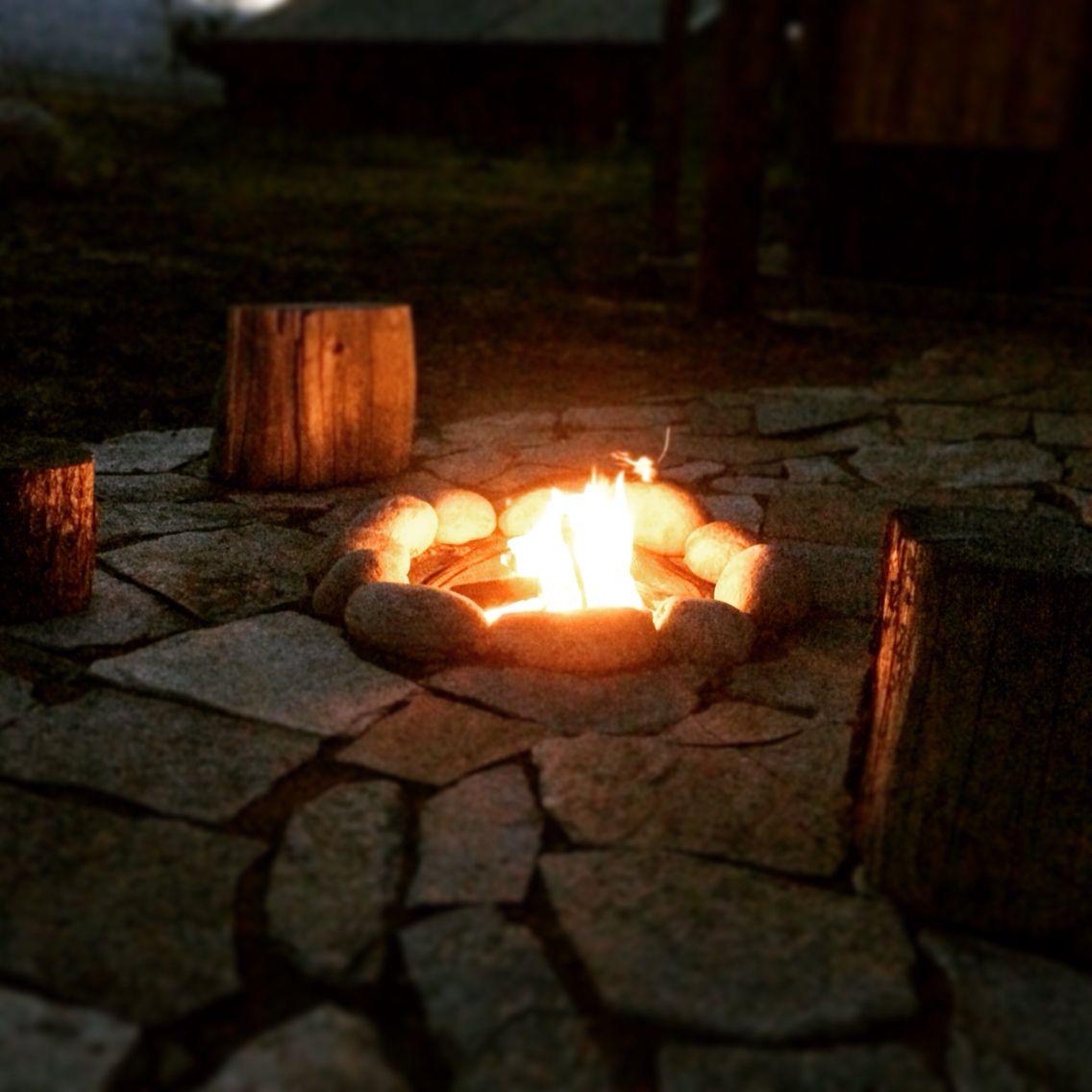 Campfire at Creek stone