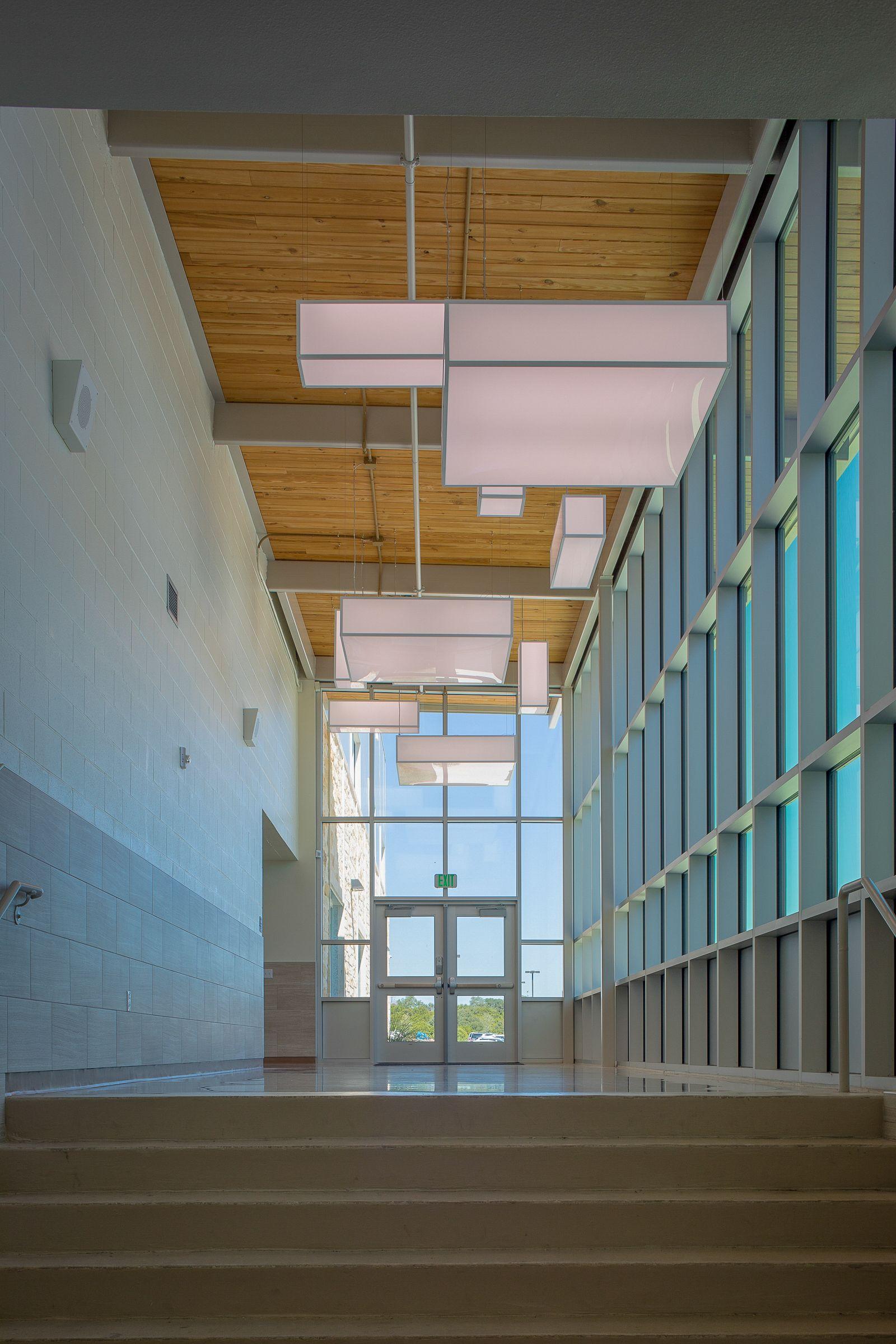 Corridor Glazing Windows Lighting Architecture Design