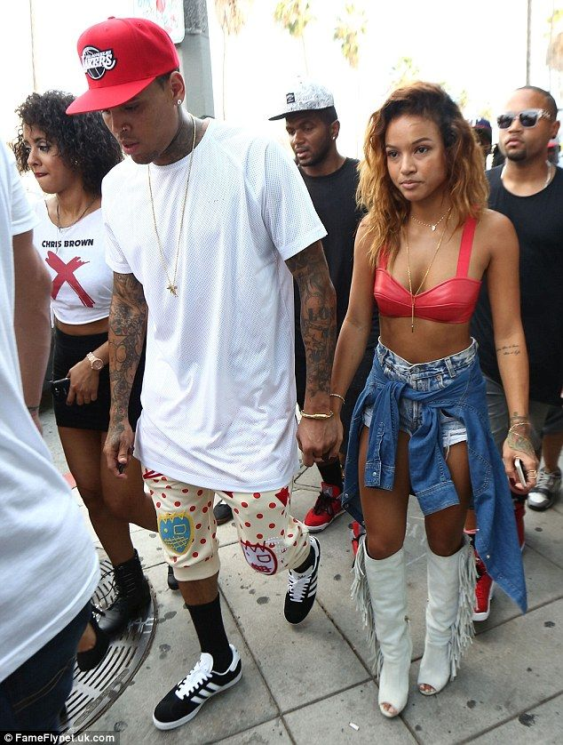 Chris Brown Shares Sultry Snap Of Girlfriend Karrueche Tran
