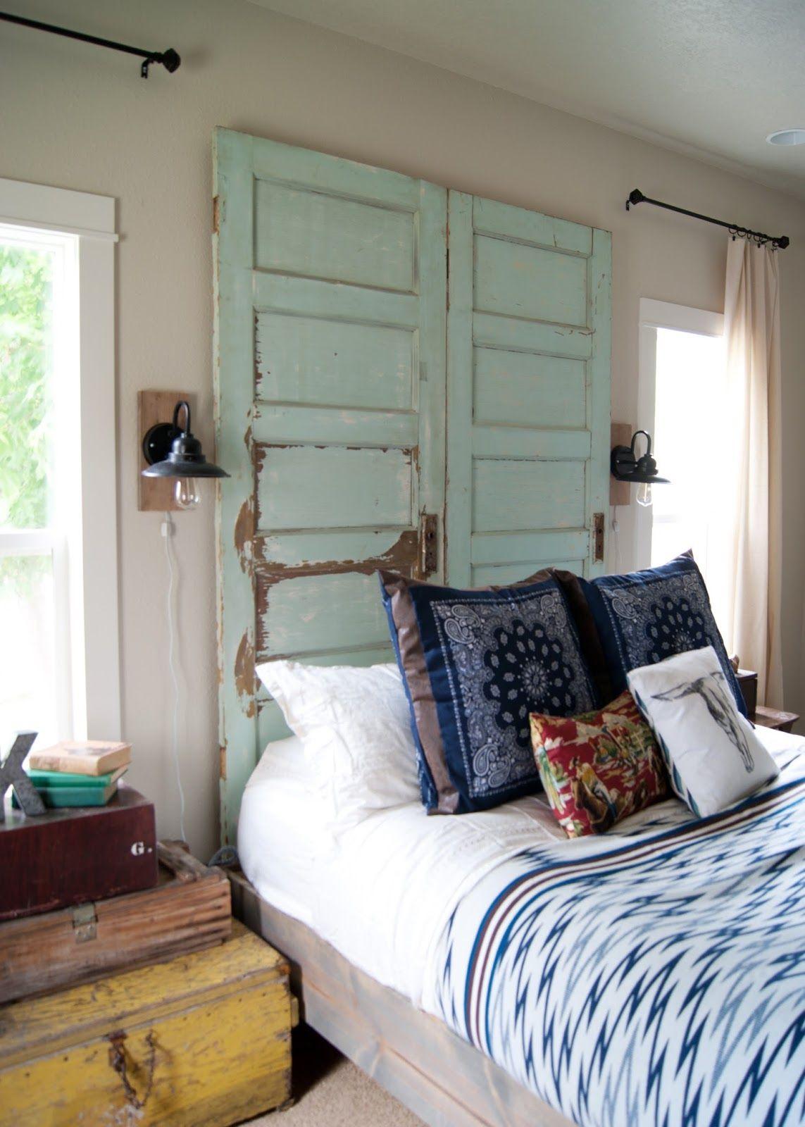 Vintage master bedroom decor  Master Bedroom Makeover After  the tour  One Room Challenge Spring