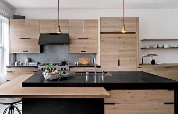 Kare Mutfak Nasil Dekore Edilir Modern Mutfak Tasarimi Ev Dekoru Ev Icin