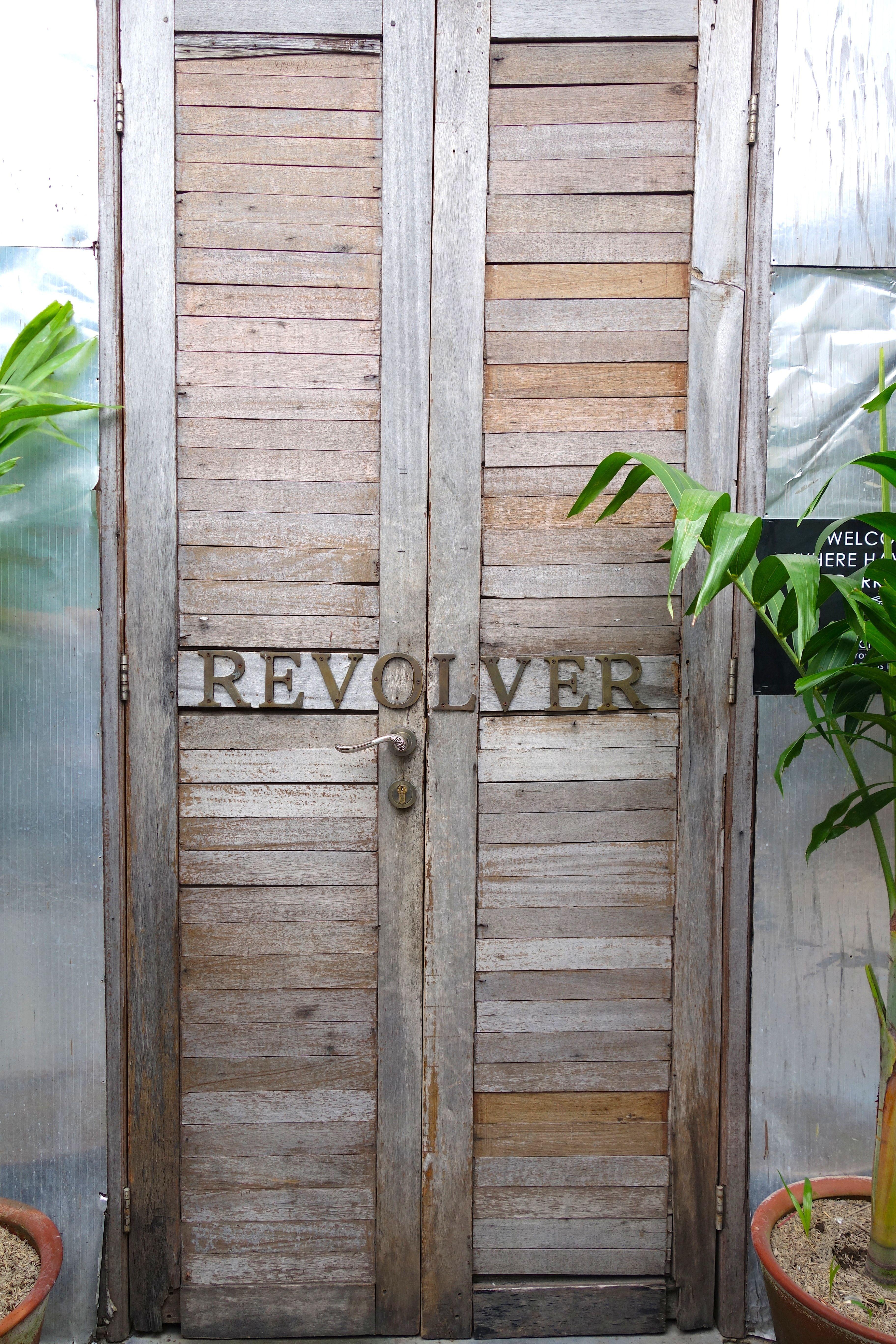 The best coffee in Seminyak is behind this door. Simply