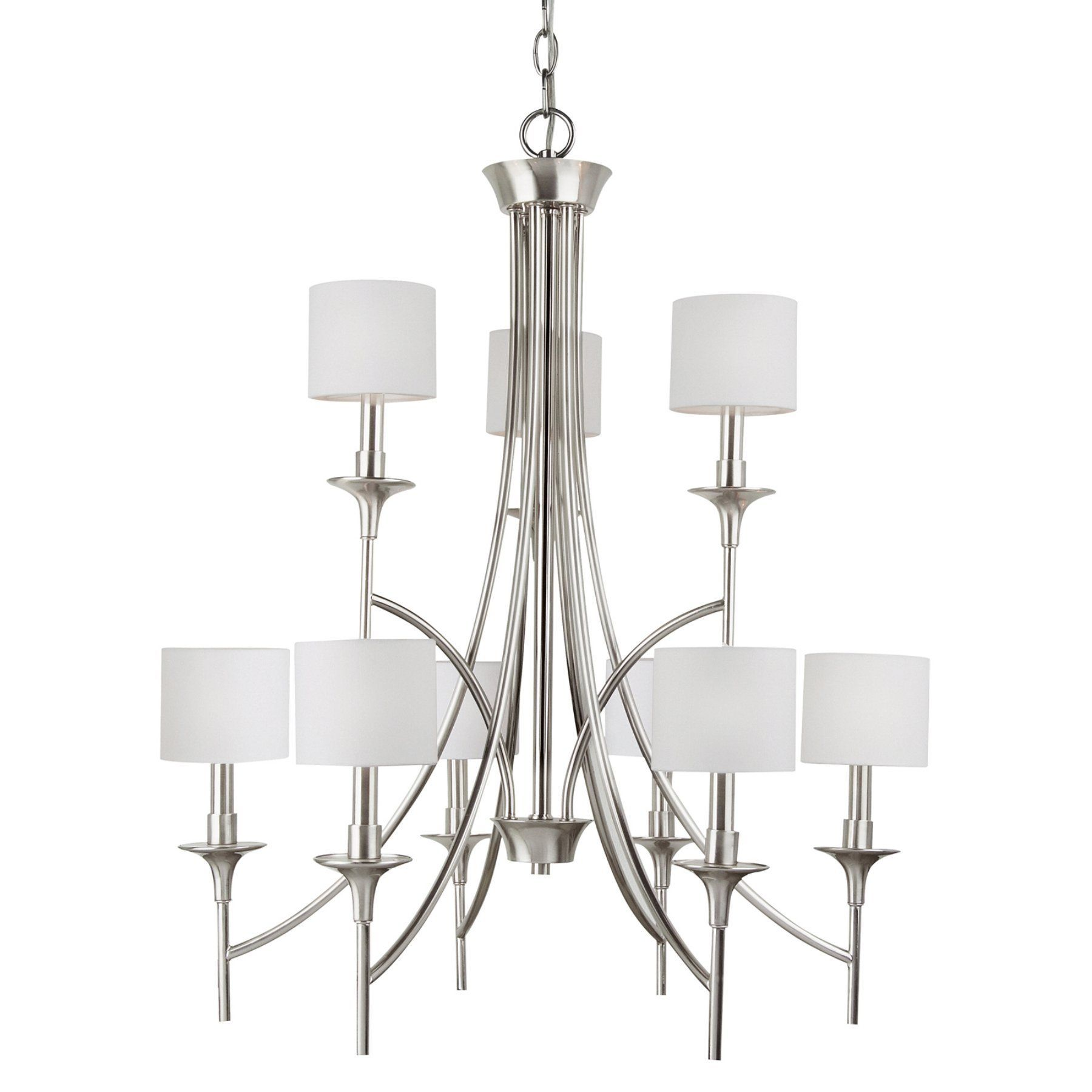 Sea Gull Lighting Stirling 962 9 Light Chandelier 30 diam