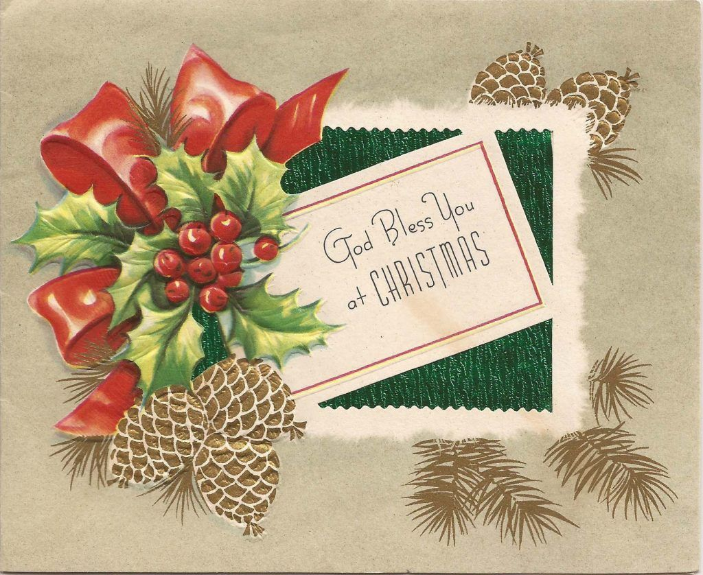 Christmas ~ 1950s Christmas Cards Carla At Home Vintage Images Boxed ...
