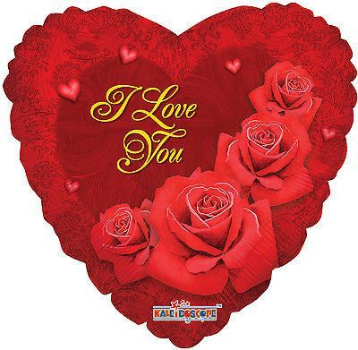 """Included in this Bouquet: 7 Balloons Total 1 - 18"""" """"I Love You"""" Roses Heart Balloon 1 - 18"""" Gold Heart Balloon 5 - 11"""" Mixed Latex Balloons (1 Red, 2 White """"I Love You"""" & Roses on Red, 1 Metallic Red, 1 Crystal Red) These items may arrive flat or in retail packaging All balloons sold online are shipped out with no air/helium. Filled balloons don't travel well through different elevations. We ship world wide! Froo www.froo.com 