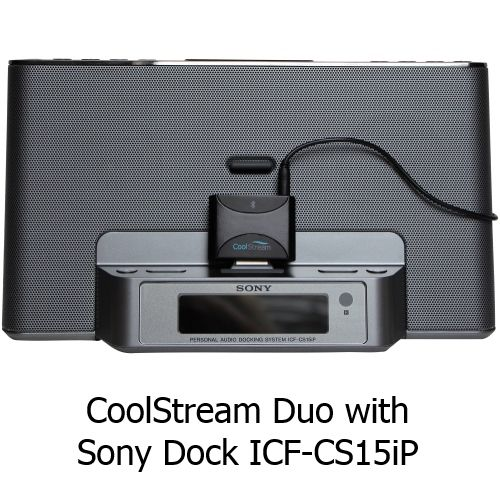 sony icf cs15ip 30-pin ipod iphone speaker dock black