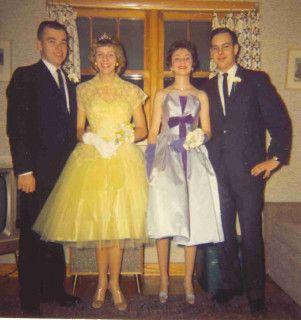 The 1960s Prom Dresses