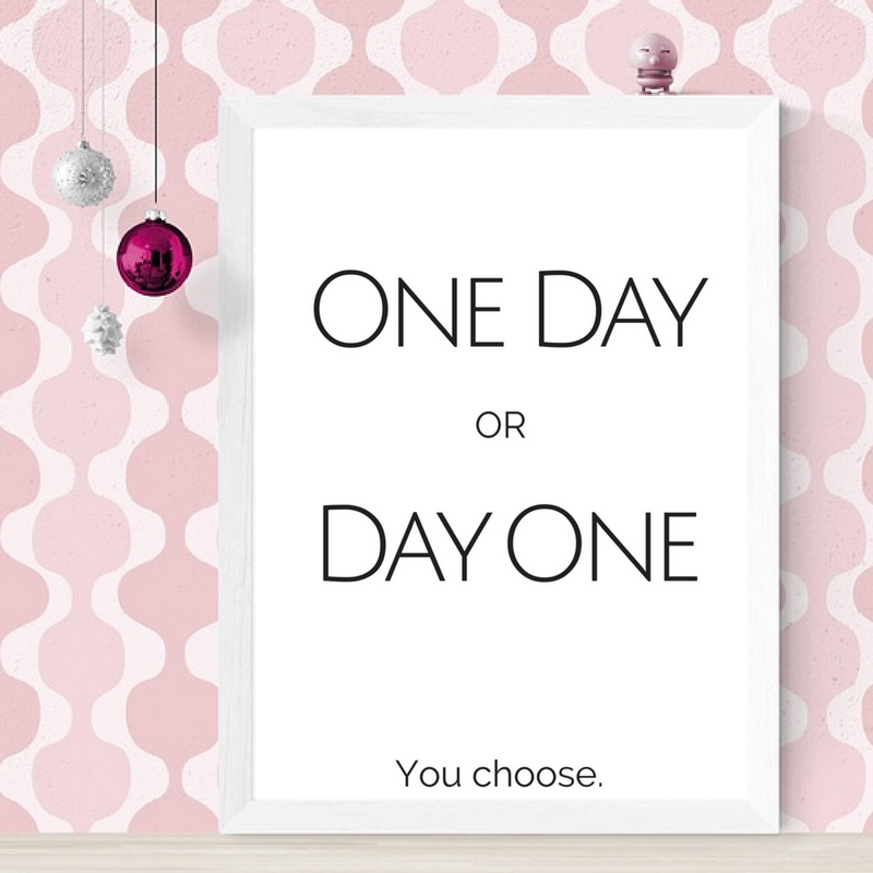 One day or you choose printable inspirational wall art inspiration digital print motivation quote black white office also rh pinterest