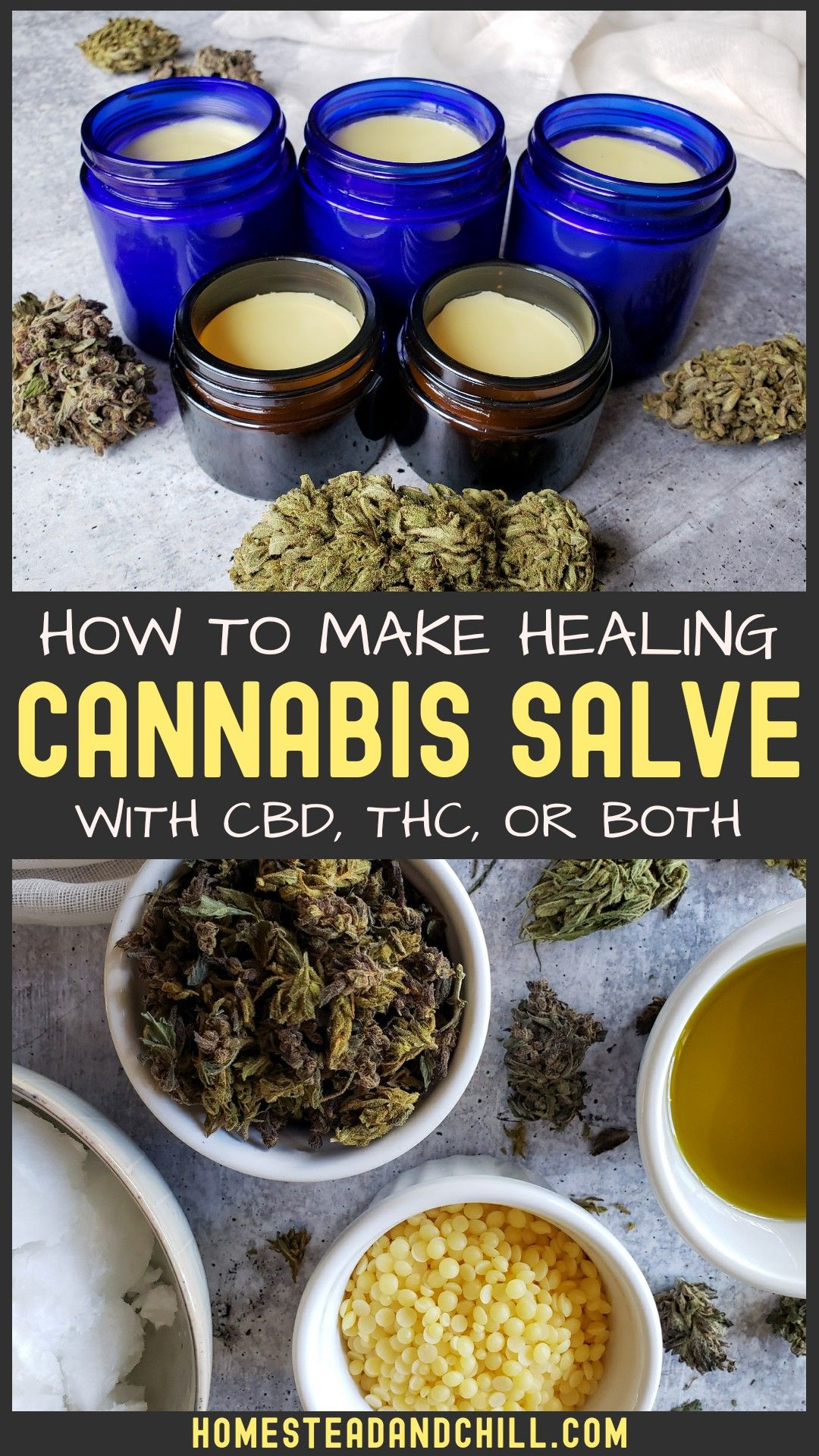 ome learn how to make your own cannabis salve at home, using marijuana or hemp. Cannabis salve can help to reduce inflammation, soothe skin irritation, joint pain, psoriasis, and more! It also happens to be quite simple to make, and easy to customize to suit your needs. #cannabis #cbd #cannabissalve #cannabinoids #naturalhealth