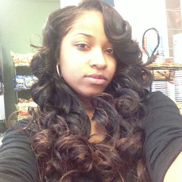 Toya Wright -- Curly Hair Don't Care!!!