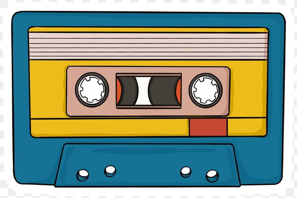 Png Classic Casette Tape Png Sticker Free Image By Rawpixel Com Noon Casette Tapes Tape Art Cassette Tape Art
