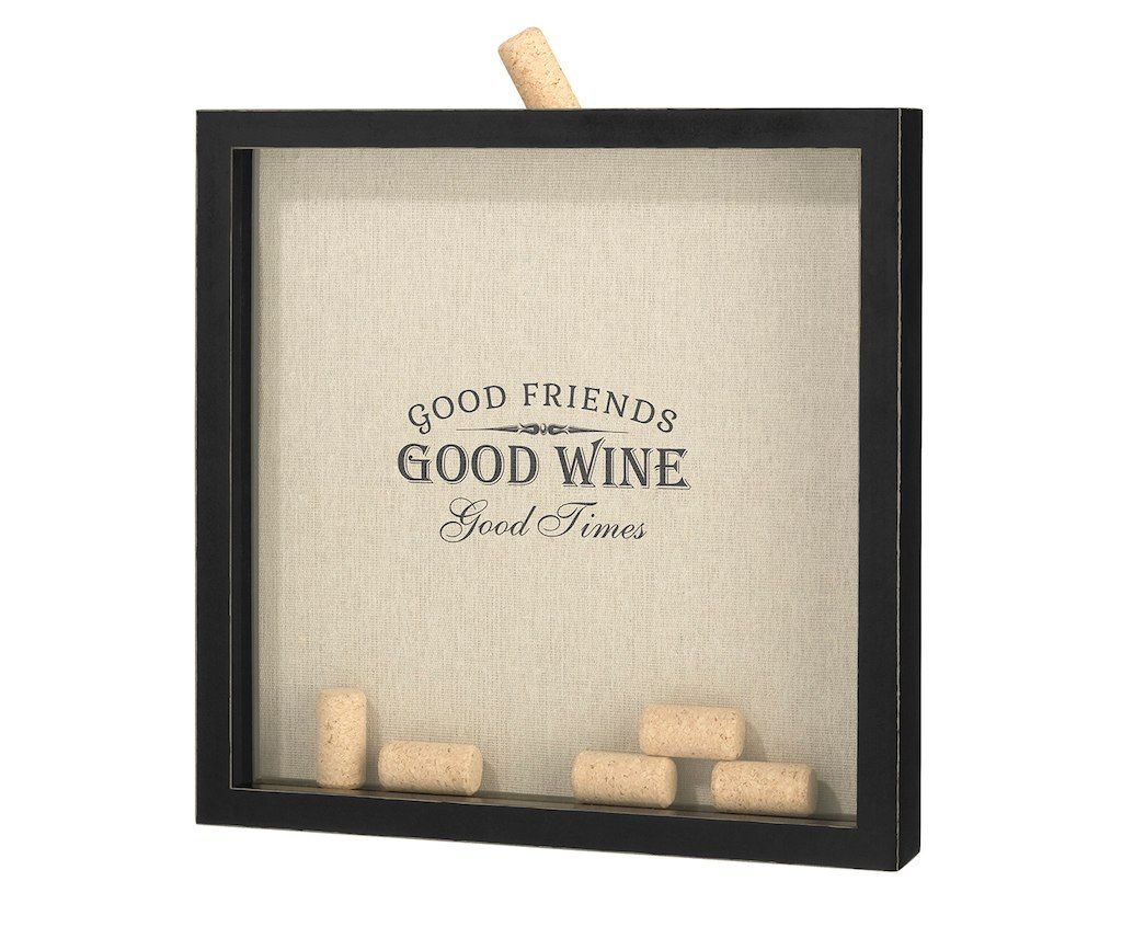 "Cork Wedding Memory: Lillian Rose ""Good Friends, Good Times"" Cork Frame"