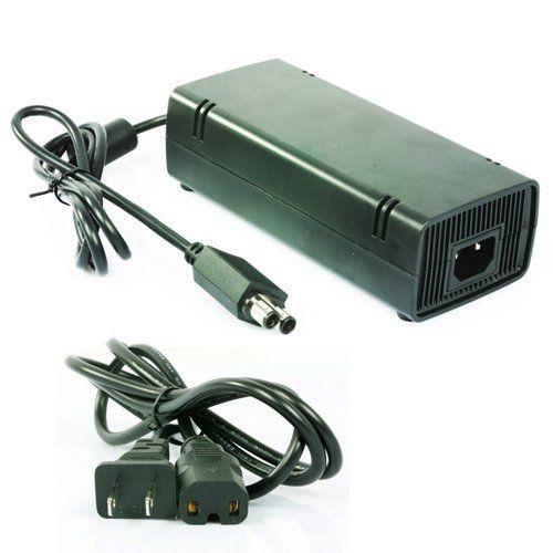 Ac Adapter Power Supply For Microsoft Xbox 360 Slim Xbox 360 Accessories Custom Xbox Xbox