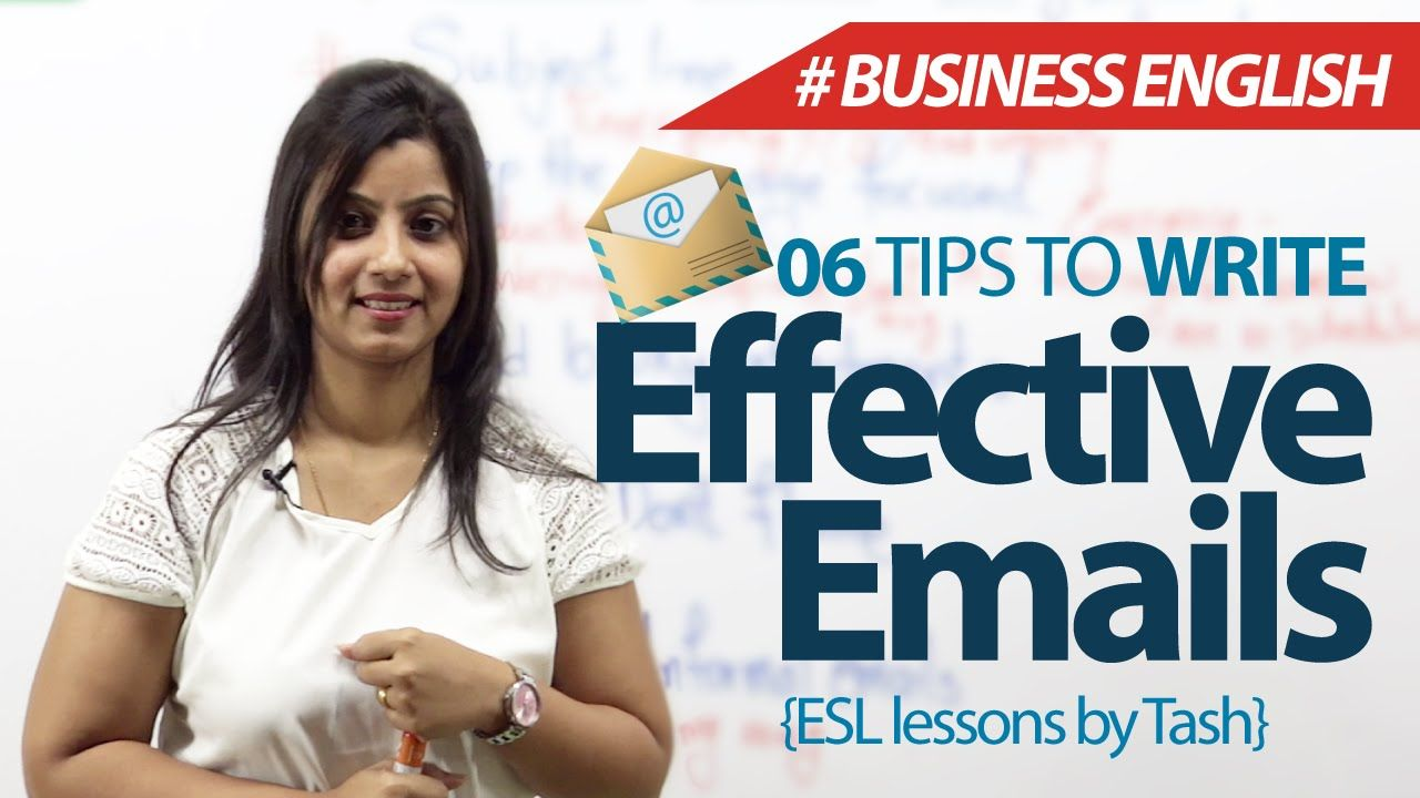 06 tips to write effective emails – Free Business English & Spoken Engli...