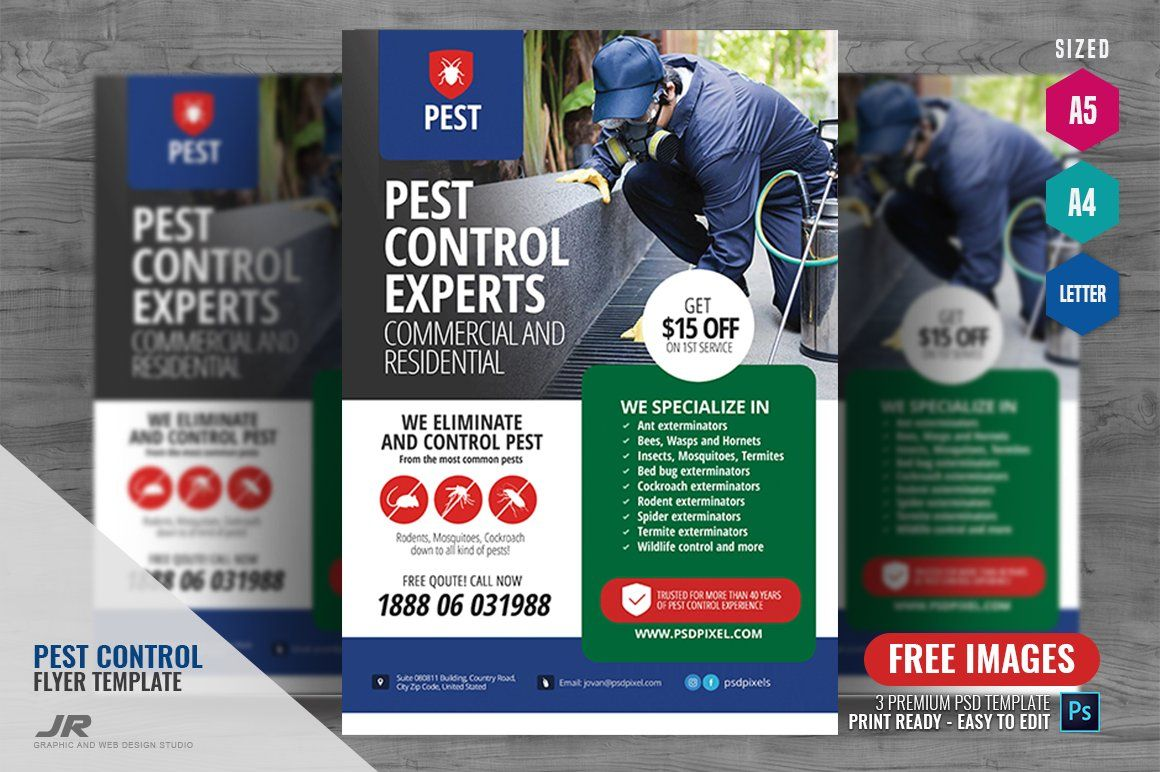 Pest Control Flyer Pest Control Pests Insect Control