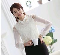lace long sleeve blouses