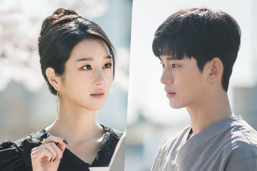 "Kim Soo Hyun And Seo Ye Ji Have A Captivating First Encounter In Upcoming tvN Drama ""It's Okay To Not Be Okay"""