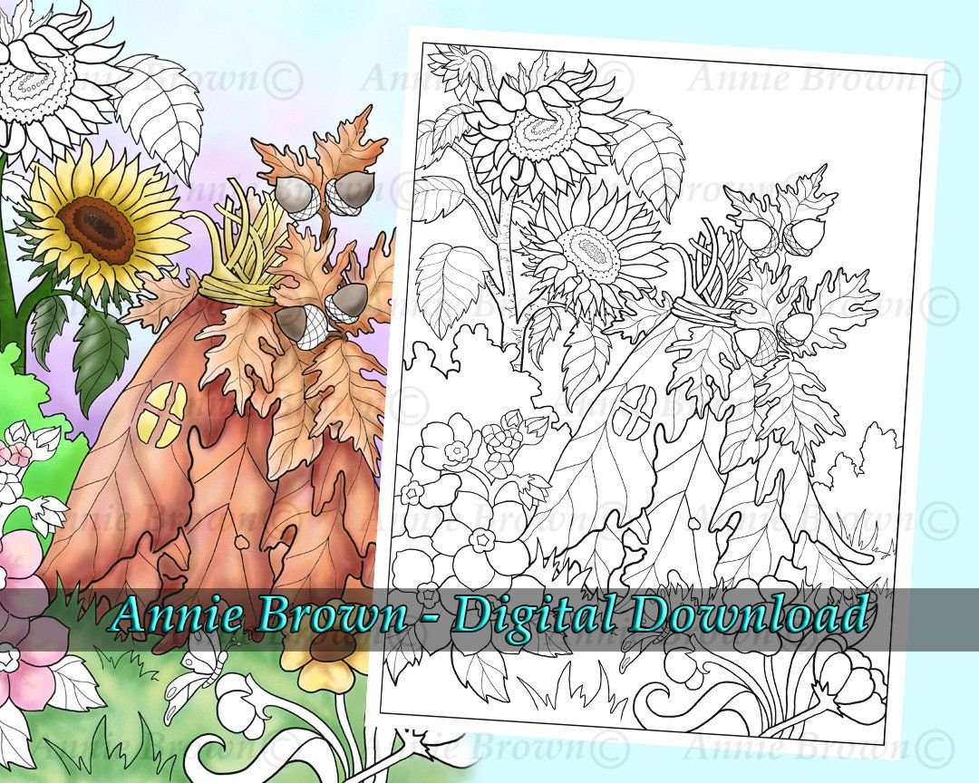 Pin On Fairyland Coloring Book Vol 1 By Annie Brown