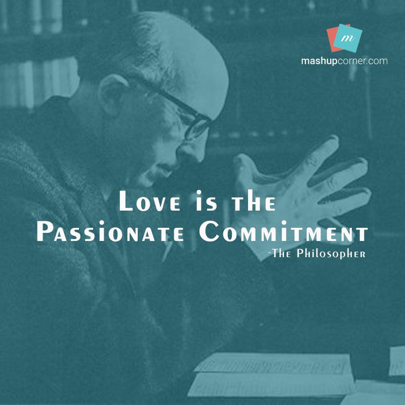 Love Is The Passionate Commitment - MashupCorner