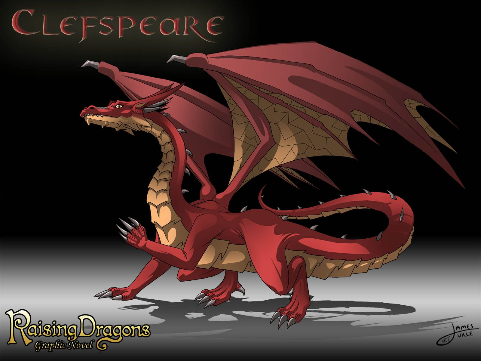 The great dragon clefspeare from the raising dragons graphic novel the great dragon clefspeare from the raising dragons graphic novel ccuart Images