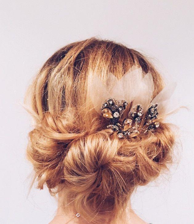 Easy Diy Bridesmaid Hairstyles: DIY Wedding Hair: Easy DIY Updo Hair Tutorial