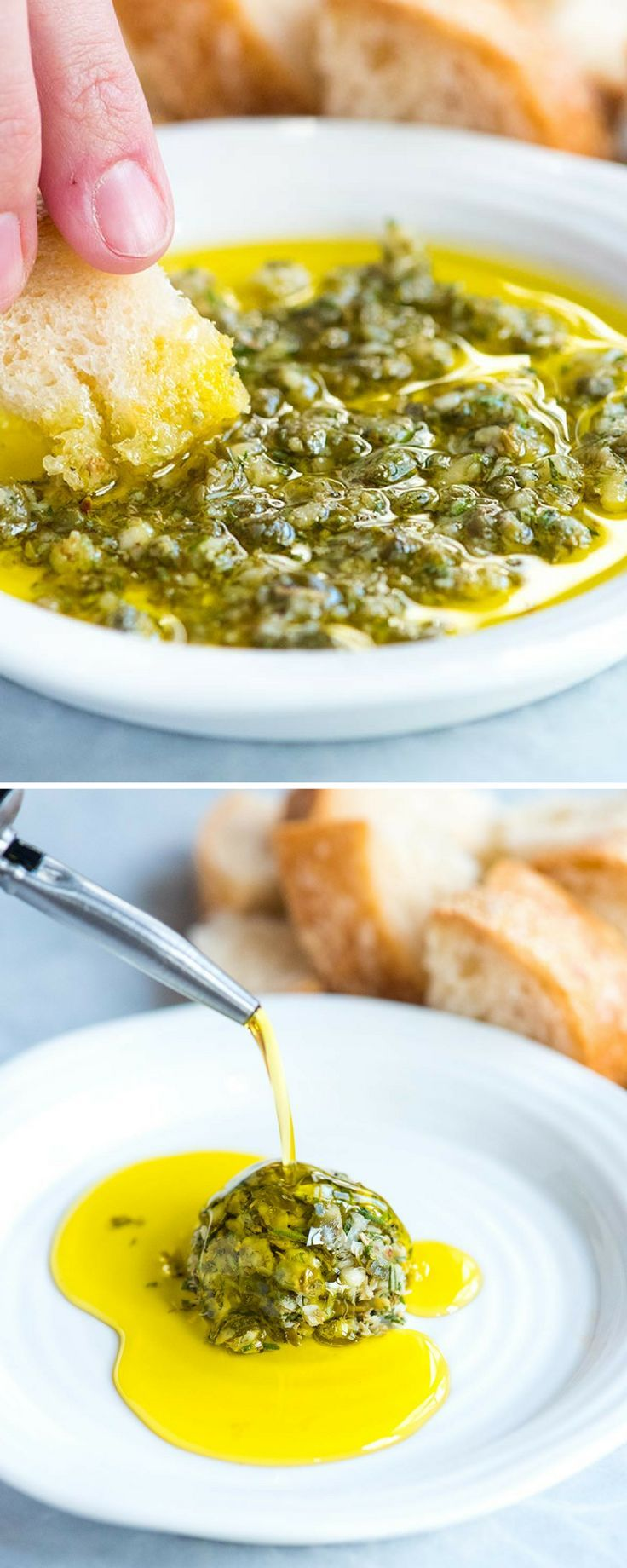Ridiculously Good Olive Oil Dip #oliveoils