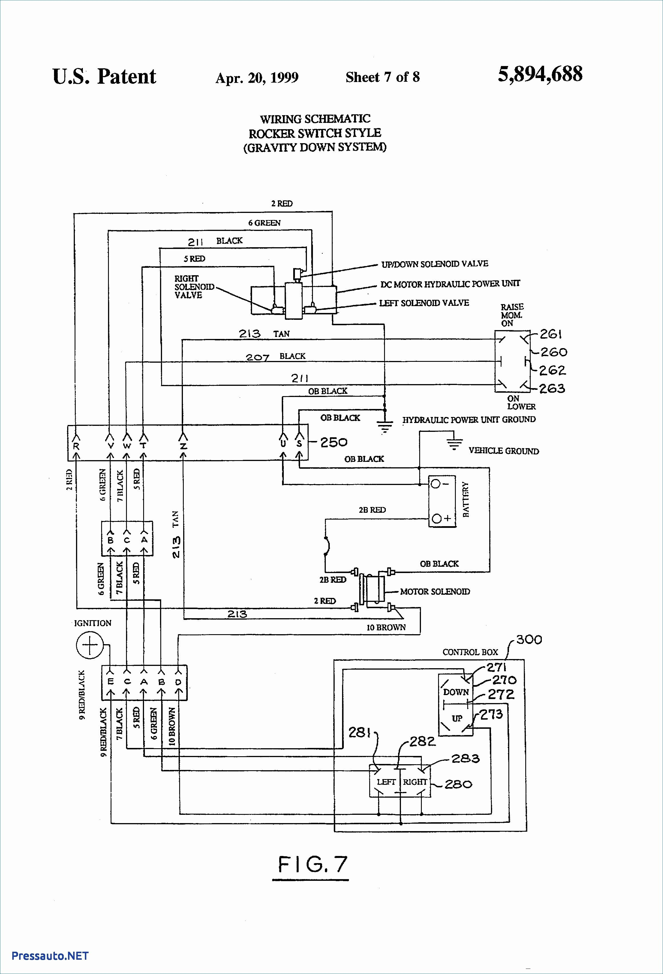 Wiring Diagram For Western Unimount