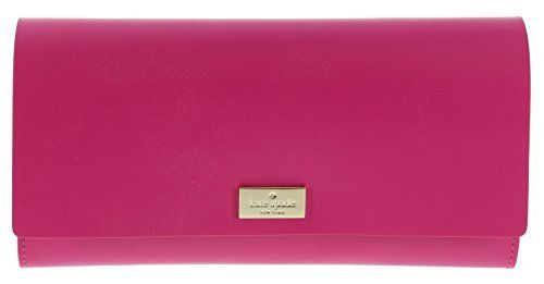 Kate Spade Arbour Hill Pim Smooth Leather Continental Wallet Clutch Purse