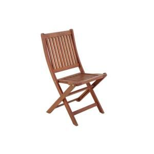 Folding Wooden Patio Chair (2 Pack) 2066700700 At The Home Depot