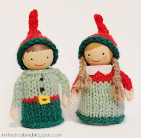 Knitted Toy Box: Christmas Elf Pattern
