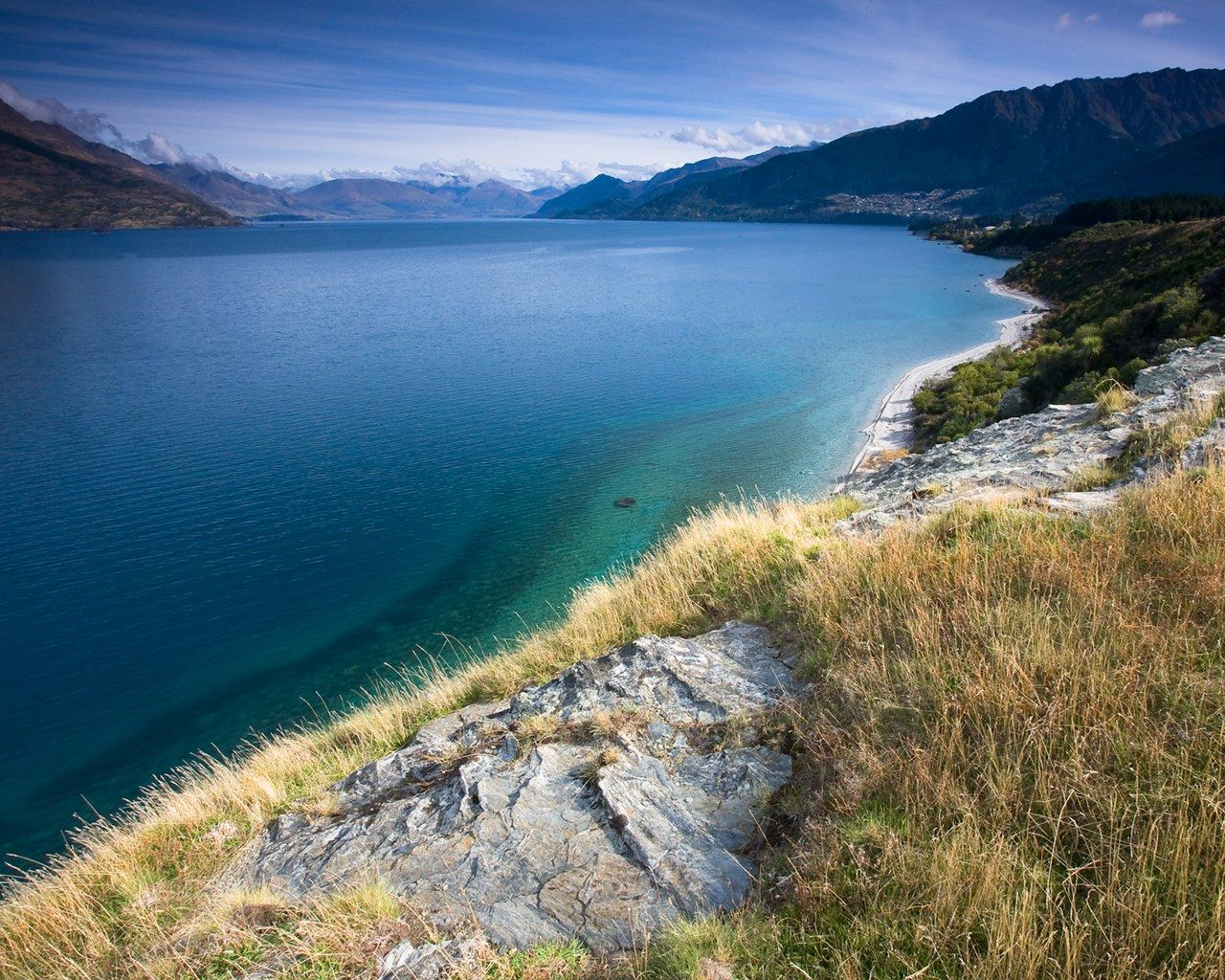 New Zealand Landscapes: Queenstown  | New Zealand Scenery, New Zealand Landscape photogrphy 1280*1024 NO.25 ...